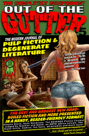 Out of the Gutter Issue 5 cover